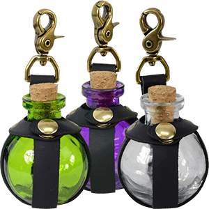 Picture for category Glass Potion Bottles & Holders