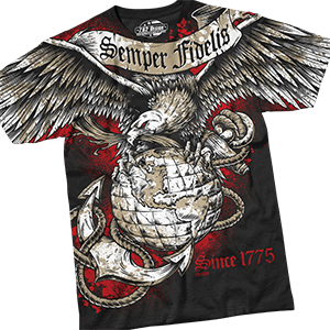 Picture for category Men's Military T-Shirts