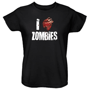 Picture for category Womens Zombie T-Shirts