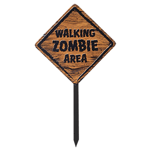 Picture for category Zombie Signs & Wall Art