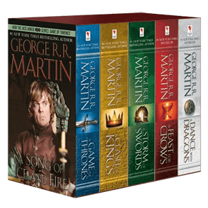 Picture for category Game of Thrones Books