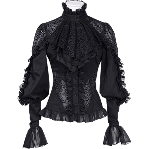 Picture for category Womens Gothic Long Sleeve Shirts