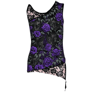 Picture for category Womens Gothic Sleeveless Shirts