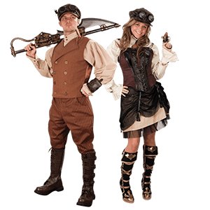 Picture for category Steampunk Clothing