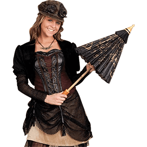 Picture for category Womens Steampunk Jackets & Capelets