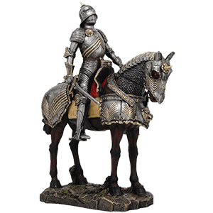 Picture for category Knight on Horseback Statues