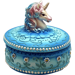 Picture for category Unicorn Trinket Boxes