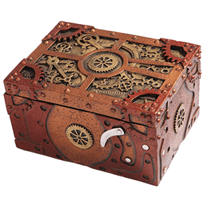 Picture for category Steampunk Trinket Boxes