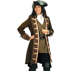 Picture for category Women's Pirate Coats & Vests