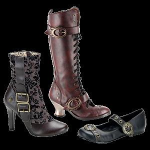 Picture for category Women's Steampunk Footwear