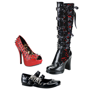 Picture for category Women's Gothic Footwear
