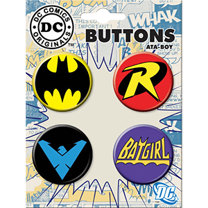 Picture for category DC Pins & Buttons