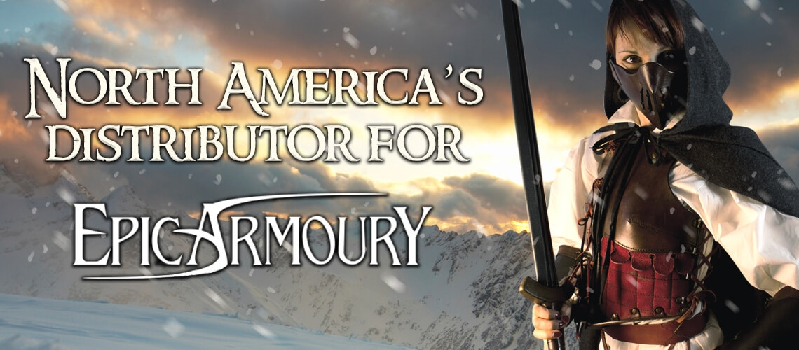 LARP Distribution North Americas Distributor for Epic Armoury