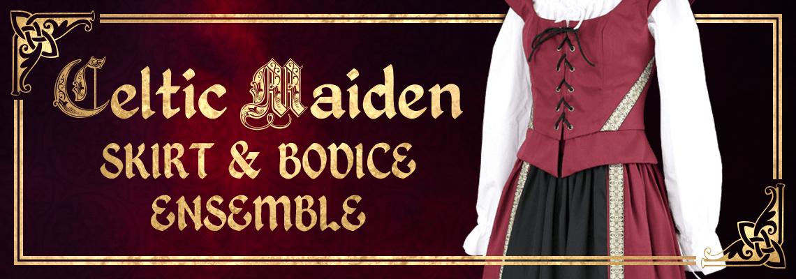 Celtic Maiden Skirt & Bodice Ensemble