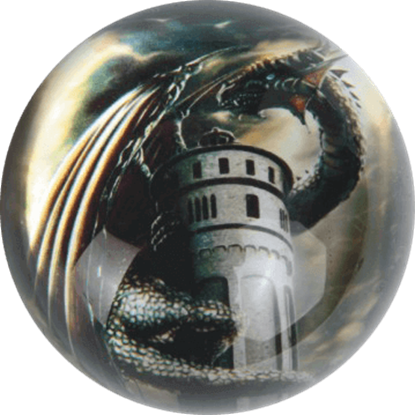 Dragon Water Tower Paperweight