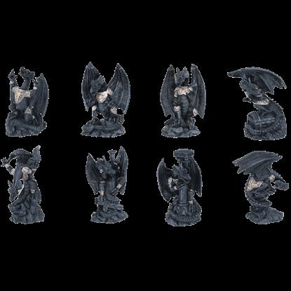 8 Piece Dragon Set