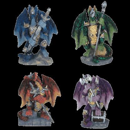 4 Piece Battle Dragons Set