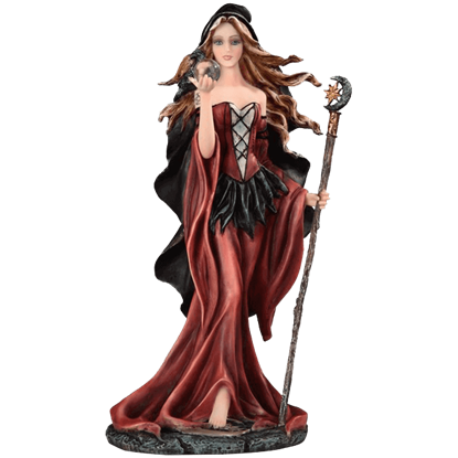 Dark Seeress Statue