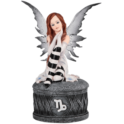 Capricorn Fairy Trinket Box