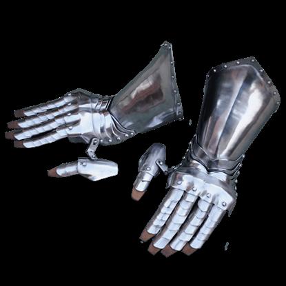 Articulated Steel Gauntlets