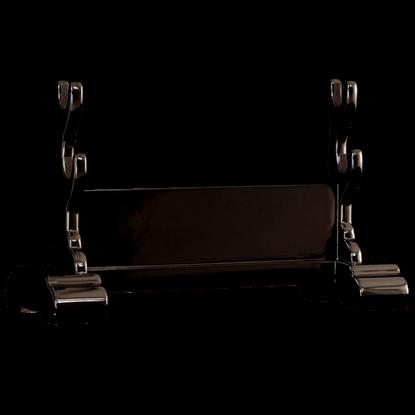 Black Lacquer Samurai Sword Stand