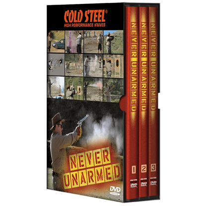 Never Unarmed DVD by Cold Steel
