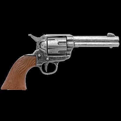 Grey Miniature M1873 Single Action Revolver