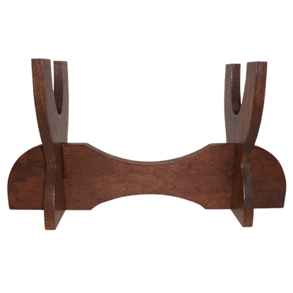 Wooden Pistol or Dagger Stand