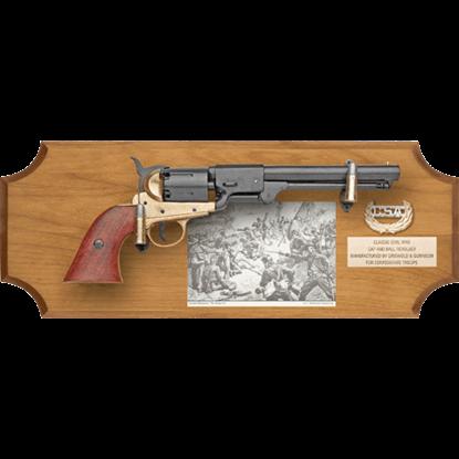 Confederate Collectors Wood Display Plaque