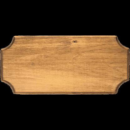 Light Wood Replica Pistol Display Frame