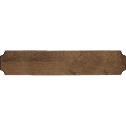 Dark Wood Replica Rifle Display Frame