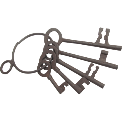 Antiqued Jailer Keys