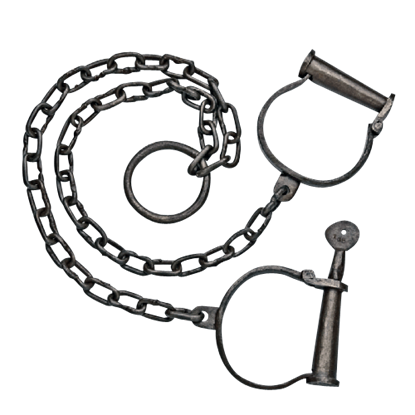Old West Leg Cuffs
