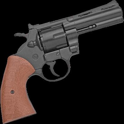 Blank Firing .357 Black Detective Revolver