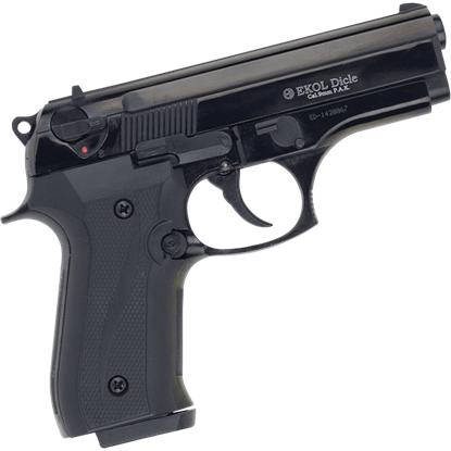 Black Dicle 8000 Blank Firing Pistol