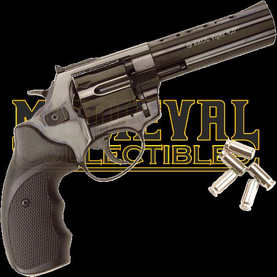 Blank Firing Black Viper Revolver