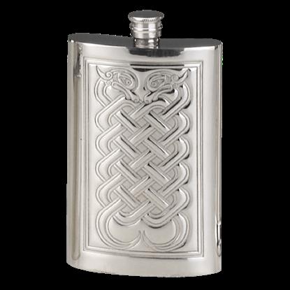 Celtic Knotwork Flask