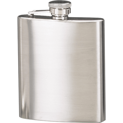 Satin Finish Hip Flask