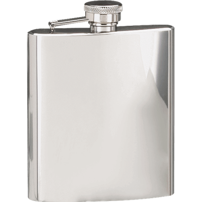 Polished Finish Hip Flask
