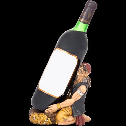 Pirate Wine Bottle Holder