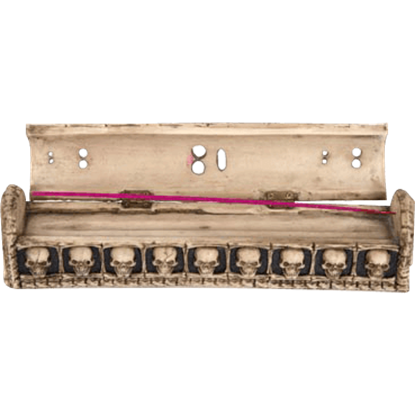 Skeleton Coffin Incense Box