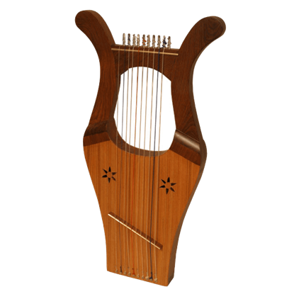 Kinnor Harp with Case