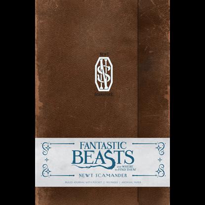 Fantastic Beasts Newt Scamander Journal