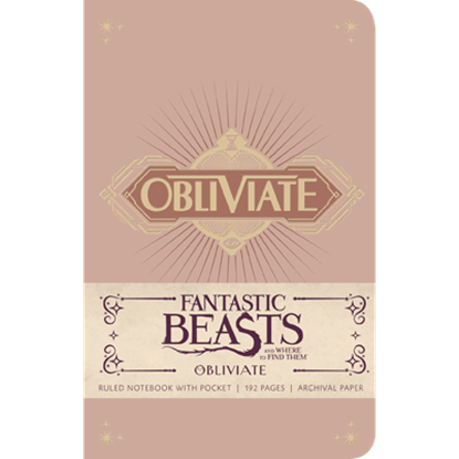 Fantastic Beasts Obliviate Pocket Journal