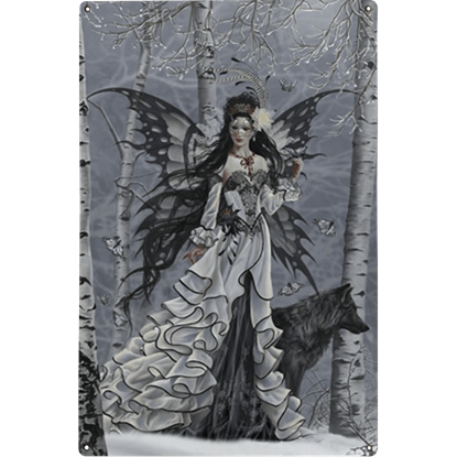 Aveliad Metal Fairy Sign