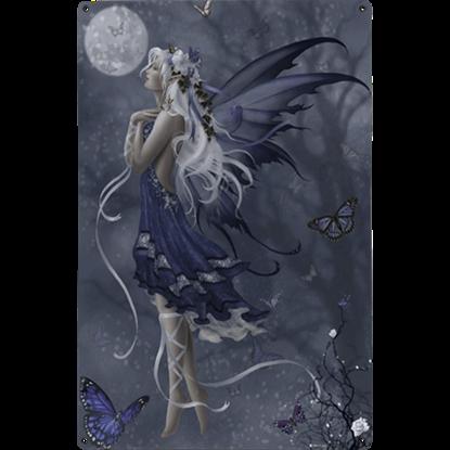 Blue Nocturne Metal Fairy Sign