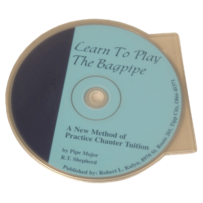Learn to Play the Bagpipe CD