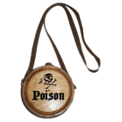 Pirate's Poison Canteen Barrel