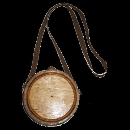 Plain Oak Canteen Barrel