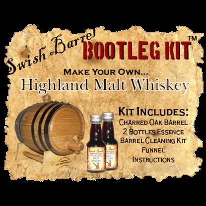 Highland Malt Scotch Whiskey Bootleg Kits - 5 Liter